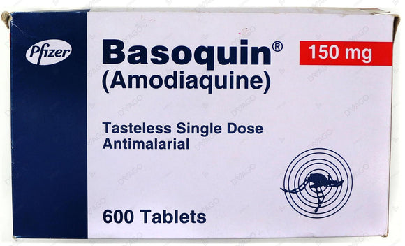 Basoquin Tablets 150mg 60X10's