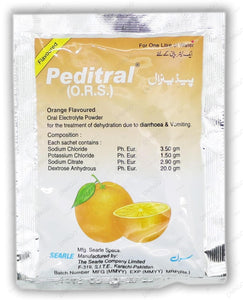 Peditral Orange Sachet 25's (O.R.S)