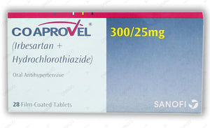 Co-Aprovel Tablets 300/25mg 2X14's