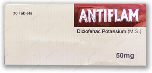 Antiflame 50mg Tablets 30's
