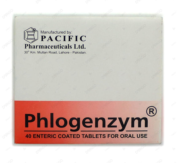 Phlogenzym Tablets 40's