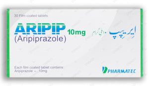 Aripip Tablets 10mg 3X10's
