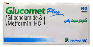 Glucomet Tablets Plus 5/500mg 60's