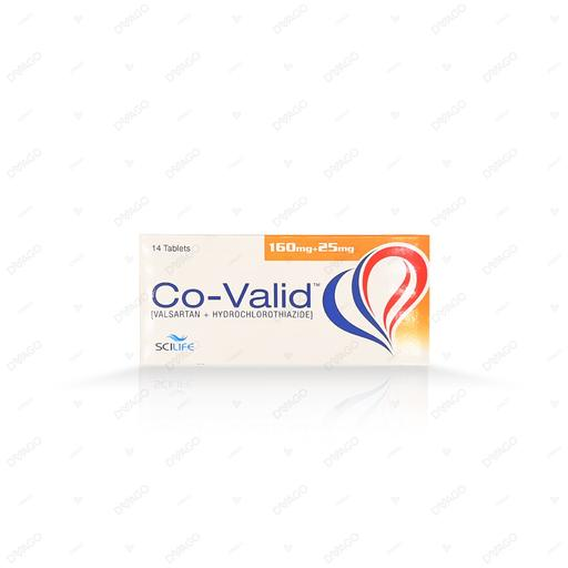 Co-Valid 160/25mg Tablets 14's
