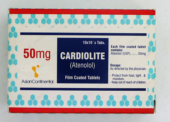 Cardiolite Tablets 50mg 100's