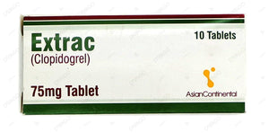 Extrac Tablets 75mg 10's