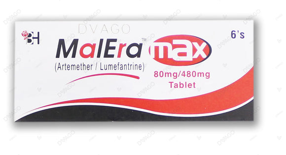 Malera Max Tablet 80mg+480mg