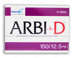 Arbi D 150/12.5mg Tablet