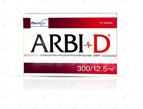 Arbi D 300/12.5mg Tablet