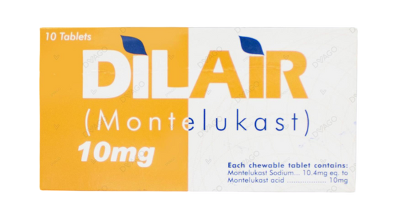 Dilair 10mg Tablets 10's