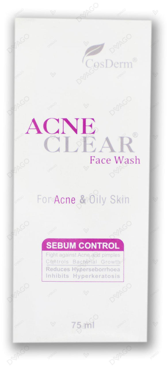 Acne Clear Face Wash 75ml