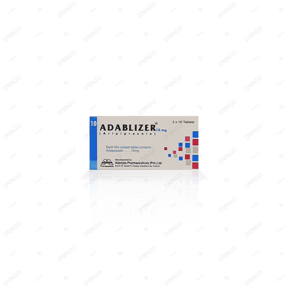 Adablizer 10mg Tablets 30's