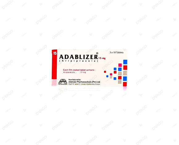 Adablizer 15mg Tablets 30's