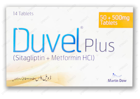 Duvel Plus 50/500mg Tablets 14's