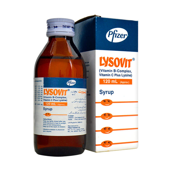 Lysovit Syrup 120ml