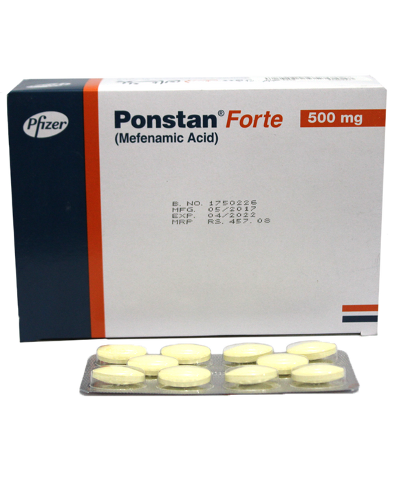 Ponstan Tablets Forte 500mg 10's