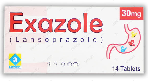 Exazole 30mg Tablets 14's
