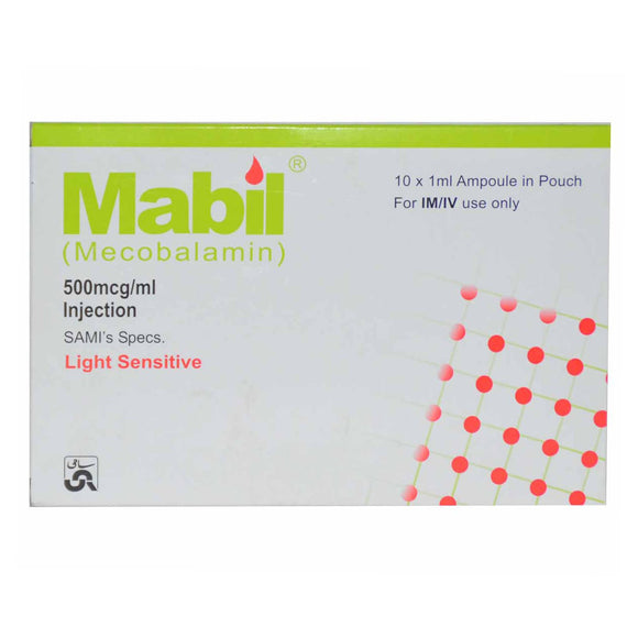 Mabil Injection 10 Ampoules