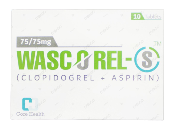 Wascorel 75/75mg Tablets 10's