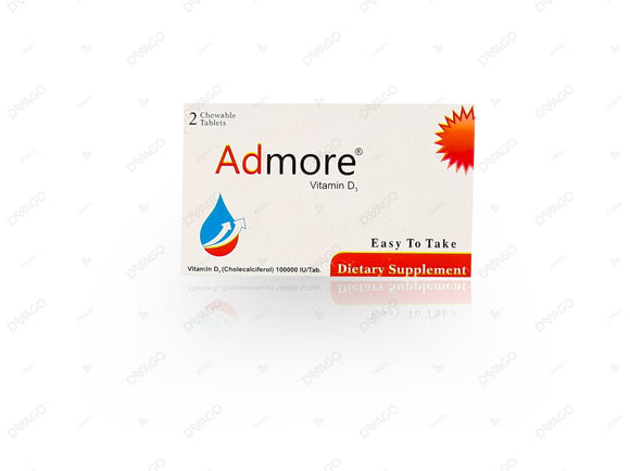 Admore 2Chewable Tablets