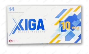 Xiga 10mg Tablets 14's