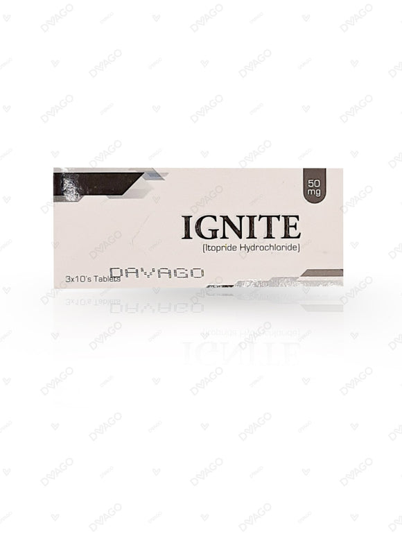 Ignite 50mg Tablets 30's