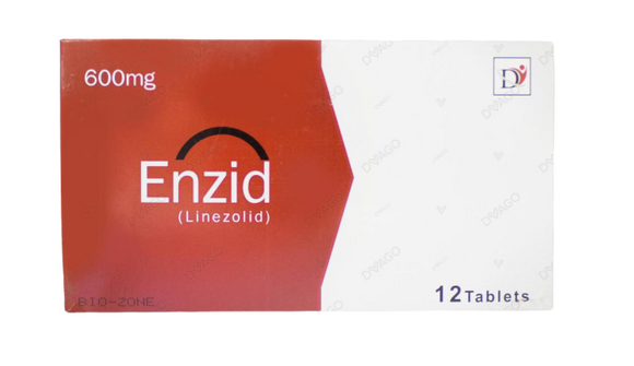 Enzid 600mg Tablets 12's