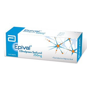 Epival Tablets 250mg 10X10's