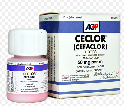 Ceclor Drop 50mg 15ml (Cefaclor)