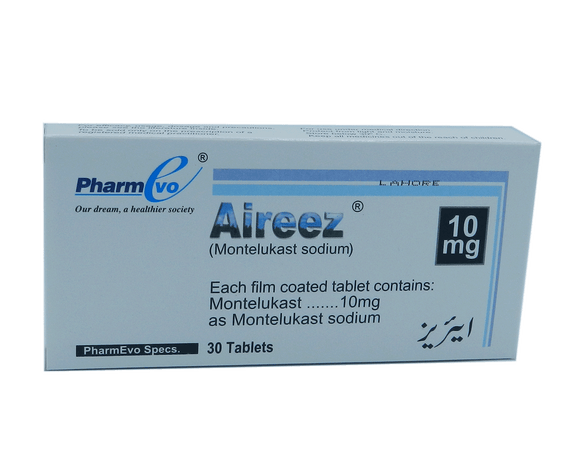 Aireez Tablets 10mg 30's