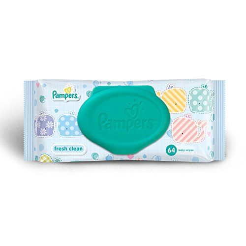 Pampers Complete Clean Baby Wipes 64 Count