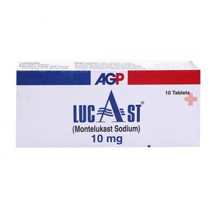 Lucast Tablets 10mg 10's