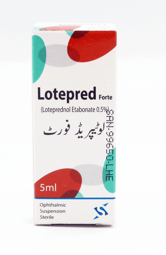 Lotepred Forte Suspension 5ml