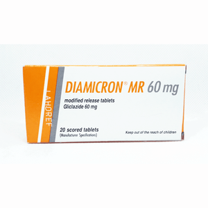 Diamicron Mr Tablets 60mg 2X10's