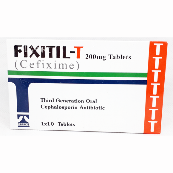 Fixitil Tab-T 200mg 10's