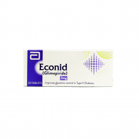 Econid 3mg Tablets 20's