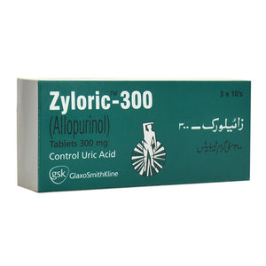 Zyloric Tablets 300mg 30's