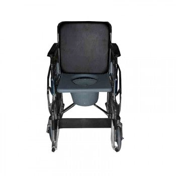 Wheelchair With Commode Double Seat