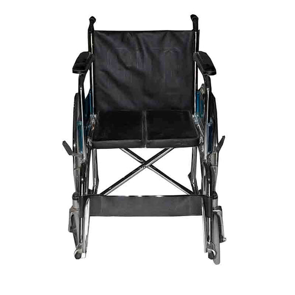 Wheelchair With Hard Seat