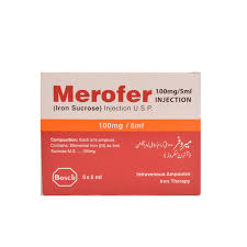 Merofer Injection 5 Ampoules X 5ml