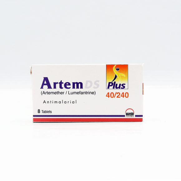 Artem - Ds Plus Tablets 40/240mg 8's