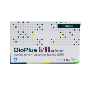 Dio Plus Tablets 5/80mg 14's