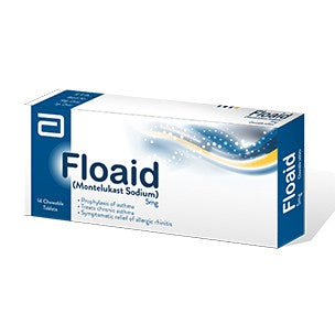 Floaid 5mg Chewable Tablets 14's