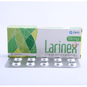 Larinex Tablets 10's