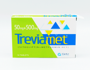 Treviamet Tablets 50/500mg 14's