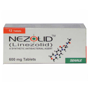 Nezolid Tablets 600mg 12's