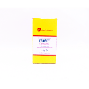 Velosef Suspension 125mg 90ml