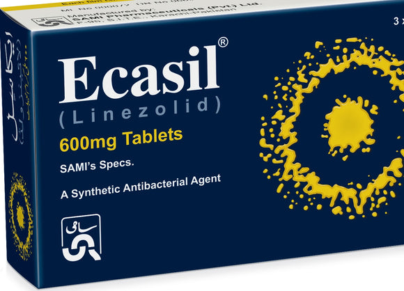 Ecasil Tablets 600mg 12's