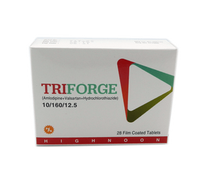 Triforge 5/160/12.5 Tablet