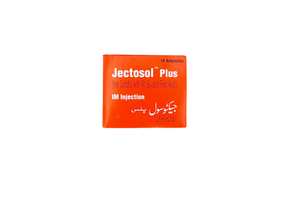 Jectosol Plus Injection 10 Ampoules X 1.5ml